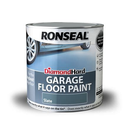 Diamond Hard Garage Floor Paint   Concrete Paint   Ronseal
