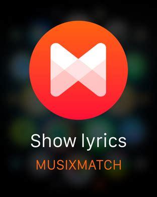 musicxmatch apk musixmatch lyrics finder on the app store