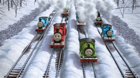 the missing christmas decorations thomas the tank engine