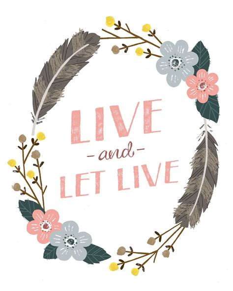 live and let live tattoo would make a live and let live print by