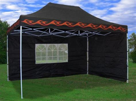 Black Canopy For Sale 10 X15 Pop Up 4 Wall Canopy Tent Gazebo Set Ez