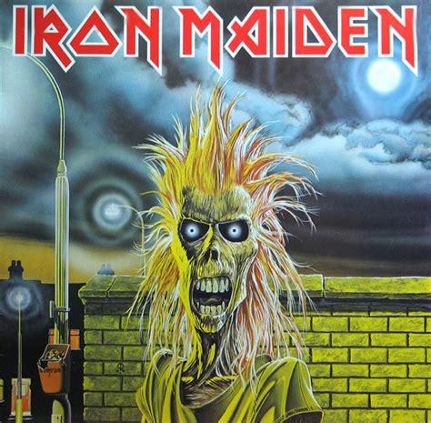 Kaos Musik Imn 07 Iron Maiden Ironmaiden iron maiden iron maiden vinyl lp album at discogs