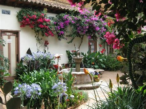 Patios In Bloom by Front Patio In Bloom Picture Of Hotel Casa Encantada