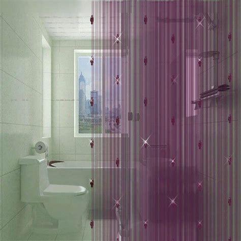 Purple And Brown Shower Curtain Gardinen Dekorationsvorschl 228 Ge Dekoideen F 252 R Fenster Und