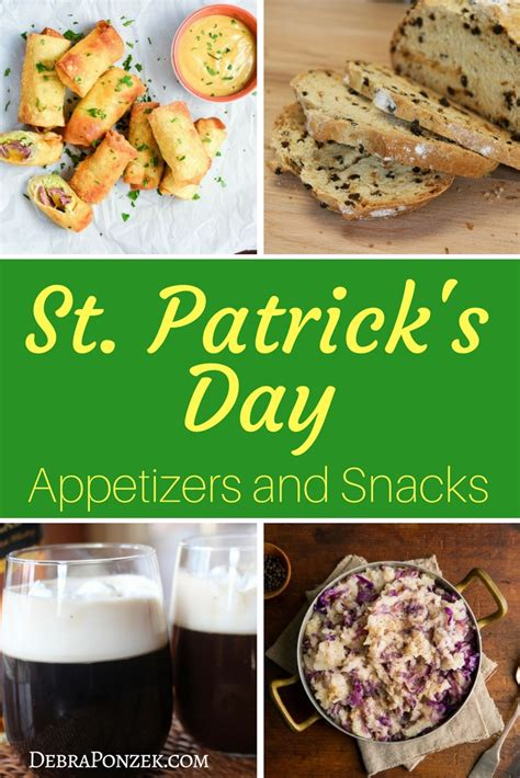 st patrick s day appetizers and bite sized snacks chef