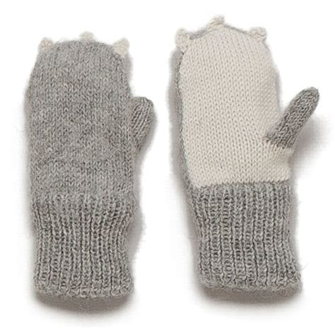 Oeuf Nyc Treat Your Ones by Oeuf Nyc Animal Mittens Rabbit Scandinavian Minimall