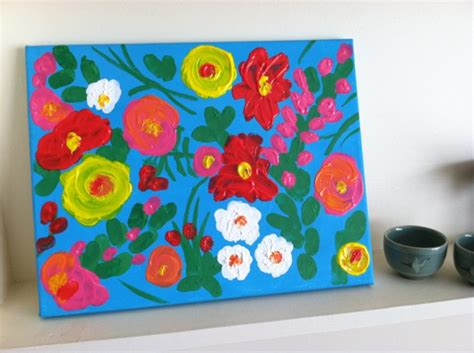 painting crafts for craft finger painting inspired by lilly toddler