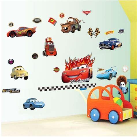 Sticker Stiker Anak Timbul Karakter Cars 11 10 wallpaper dinding kamar anak motif cars nirwana deco