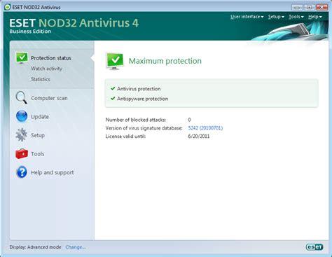 eset nod32 4 full version free download nod32 antivirus 4 eng version update servers