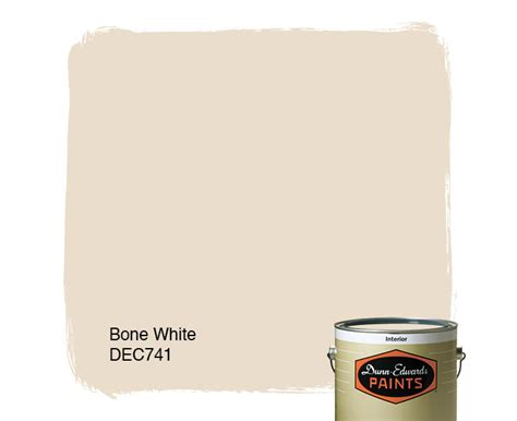 bone white dec741 dunn edwards paints