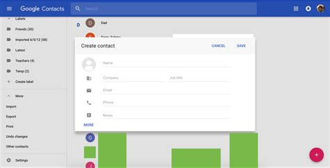 material design google adalah google contacts material design 3 9to5google