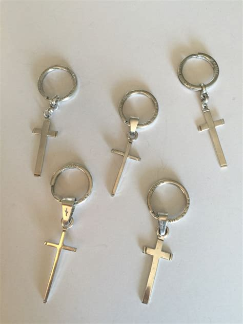 Handmade Key Chains - silver key chains handmade in argentina