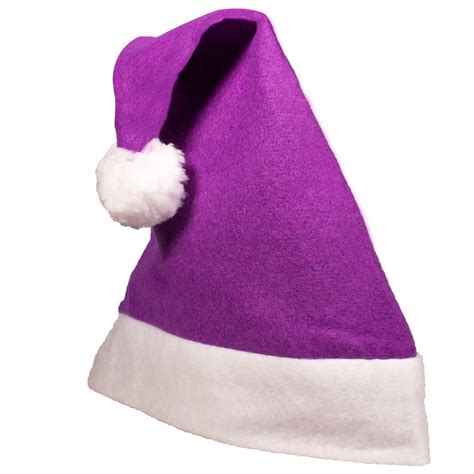 purple felt santa hat hats products under 1 00