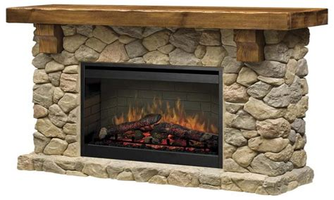 Flat stone fireplace, fieldstone electric fireplace gas