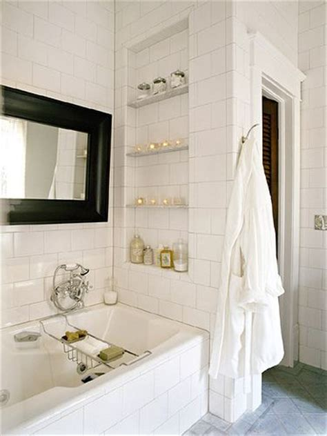 bathroom alcove shelves pin by andrea richardson on bathrooms pinterest bath