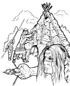 indian coloring pages coloring page indian coloring pages 10