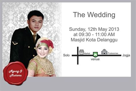 Because You Shared In Our Lives Wedding Invitation