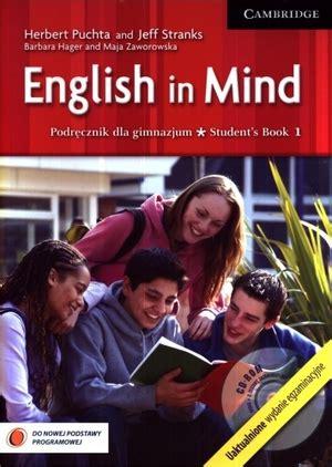 american english in mind student s book starter english in mind 1 students book podręcznik herbert puchta jeff stranks cambridge 48 55 zł