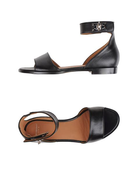 givenchy sandals lyst givenchy sandals in black