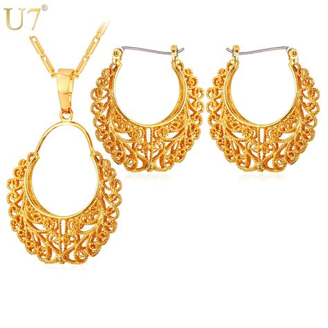 aliexpress buy u7 fashion jewelry dubai gold plated