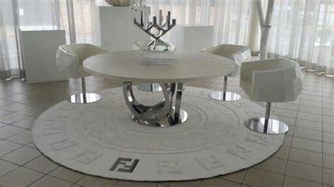 leather dining table fendi from casarredo i m loving