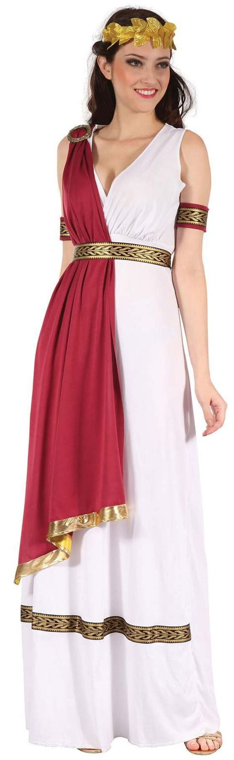 Stylish Costume Of The Day Goddess by White Ancient God Fancy Dress Costume