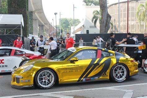 formula 1 singapore grand prix 2014 porsche cup