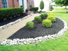 front yard landscaping with rocks decorative landscaping with rocks for a house