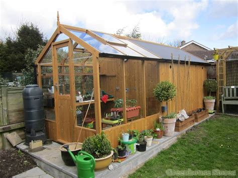 swallow kingfisher  greenhouse ft shed combination