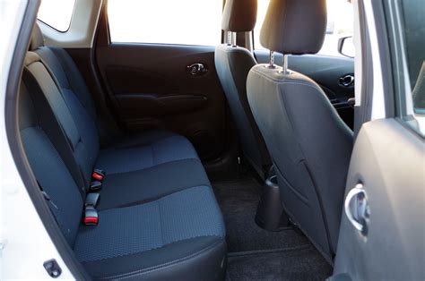 nissan versa note back seat review 2016 nissan versa note sl canadian auto review