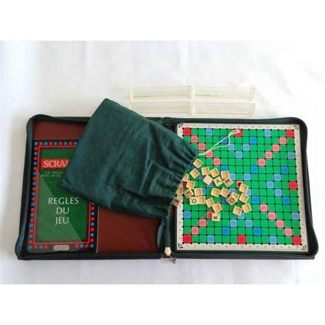 scrabble voyage scrabble classique de voyage jeu mattel 1988 jouets