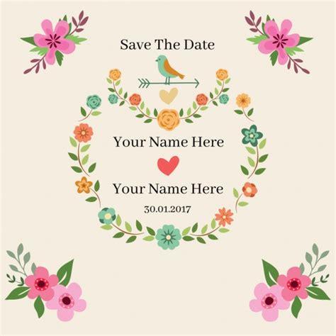 undangan pernikahan vektor vektor jantung vektor gratis