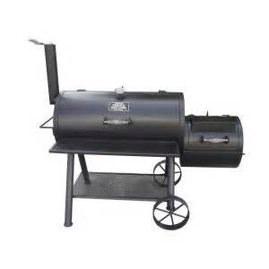 smokers at home depot smoke hollow deluxe barrel style smoker charcoal grill