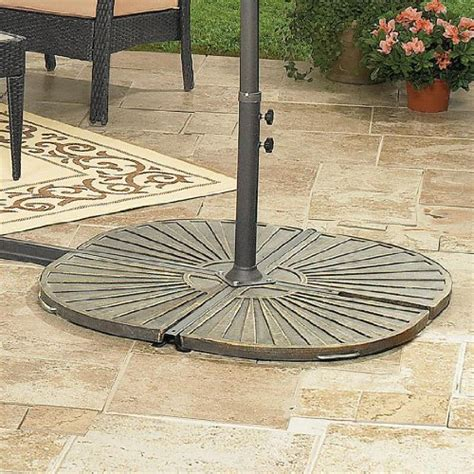 Cantilever Patio Umbrella With Base Everything Seems To Be Brylanehome Cantilever