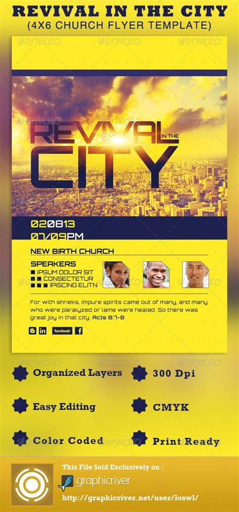 1000 Images About Church On Pinterest Flyer Template Promotional Flyers And Flyers Church Promo Templates