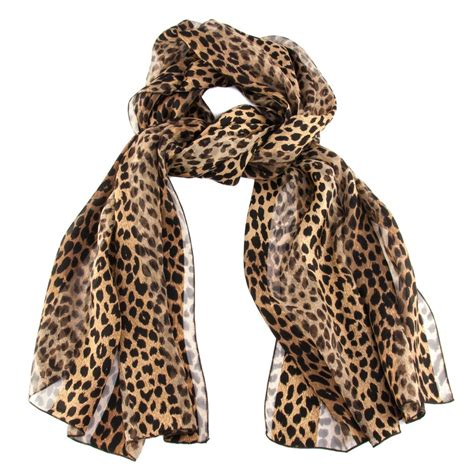 Print Silk Scarf leopard scarf designs and patterns world scarf