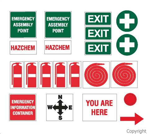 Blank Floor Plan Template by Emergency Evac Plan Stickers Set 75x75mm Evacuation