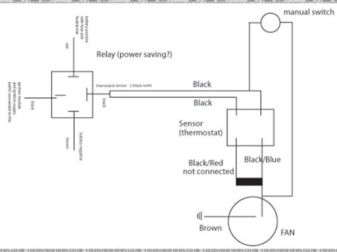 radiator cooling fan circuit diagram radiator free
