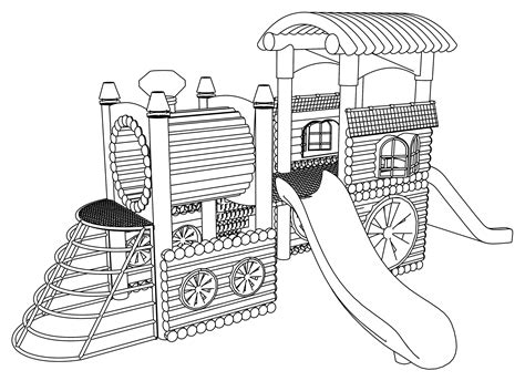 coloring pages school playground playground coloring pages wecoloringpage