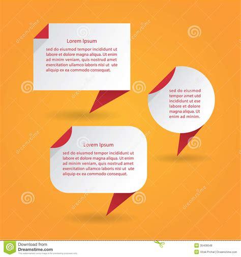 vector flat speech bubbles modern design speech bubbles