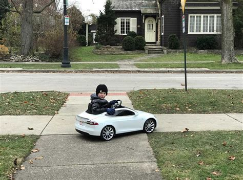 review tesla radio flyer vs the mini convertible electric