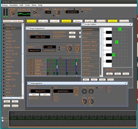 drum tutorial software free download ordrumbox screenshots free software drum machine for