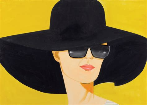 The Big Black Hat by Alex Katz Pictures Of Pleasure And Design The