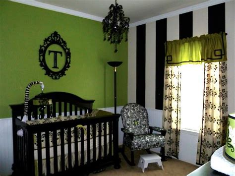 Baby Room Green Paint by S Nursery Black White Jalapeno Green Design Dazzle