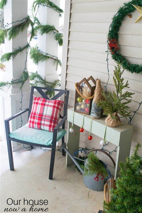 home front decor ideas christmas front porch decorating ideas our house now a home