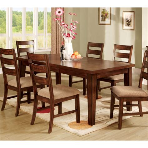 furniture of america dining table furniture of america extendable dining table in