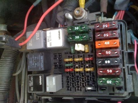 chevy truck fuse box  schemes