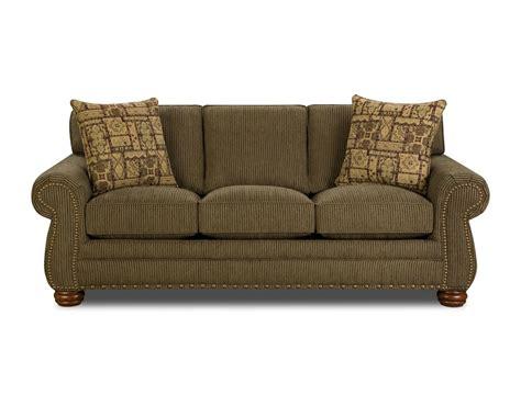 corinthian couch corinthian sidetrack moss sofa