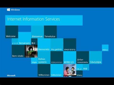 tutorial asp net iis tutorial configurar servidor local iis para asp net vs