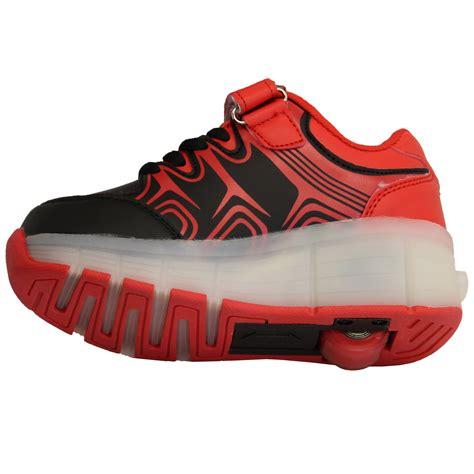 roller skate shoes boys retractable wheel roller skate shoes led